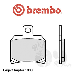 Cagiva Raptor 1000 브레이크 패드 브렘보 리어