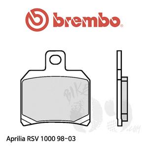 아프릴리아 RSV1000 98-03 브레이크 패드 브렘보 리어