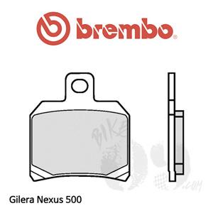 Gilera Nexus 500 브레이크 패드 브렘보 리어