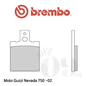 모토구찌 Nevada 750 -02 브레이크 패드 브렘보