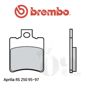 아프릴리아 RS 250 95-04 브레이크 패드 브렘보