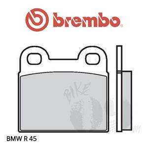 BMW R 45/R65  브레이크 패드 브렘보 프론트
