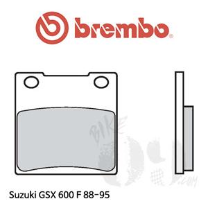 스즈키 GSX 600 F 88- 브레이크 패드 브렘보 리어