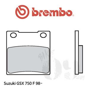 스즈키 GSX 750F 98-  브레이크 패드 브렘보 리어