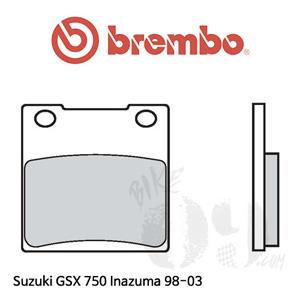 스즈키 GSX 750 Inazuma 98-03  브레이크 패드 브렘보 리어