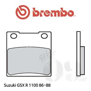 스즈키 GSX R1100 86-88 오토바이 브레이크 패드 브렘보 리어
