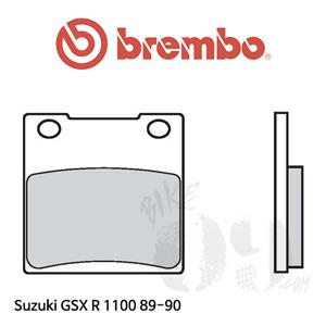 스즈키 GSX R1100 89-90 오토바이 브레이크 패드 브렘보 리어