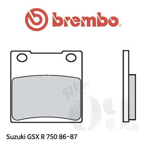 스즈키 GSX R750 86-87 오토바이 브레이크 패드 브렘보 리어