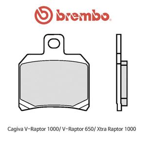 카지바 V랩터1000/ V랩터650/ 엑스트라랩터1000 리어용 신터드 스트리트 오토바이 브레이크패드 브렘보