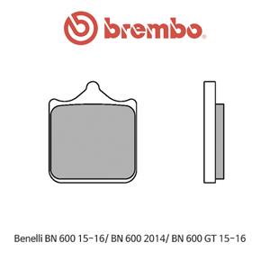 베넬리 BN600 (15-16)/ BN600 (2014)/ BN600GT (15-16) 신터드 스트리트 오토바이 브레이크패드 브렘보 07BB33SA