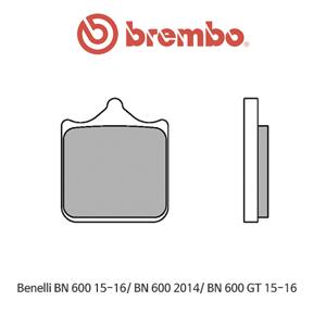 베넬리 BN600 (15-16)/ BN600 (2014)/ BN600GT (15-16) 신터드 레이싱 오토바이 브레이크패드 브렘보
