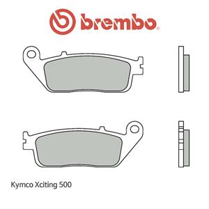 킴코 익사이팅500 신터드 오토바이 브레이크패드 브렘보 07075XS