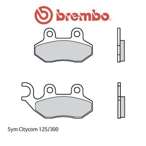 Sym 시티콤125/300 카본 오토바이 브레이크패드 브렘보