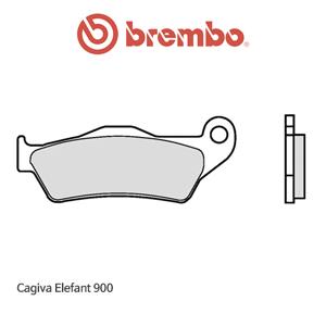 카지바 Elefant900 제뉴인 파츠 오토바이 브레이크패드 브렘보