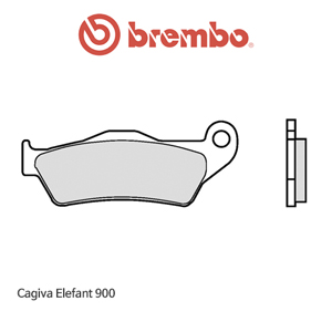 카지바 Elefant900 제뉴인 파츠 오토바이 브레이크패드 브렘보 07BB0495