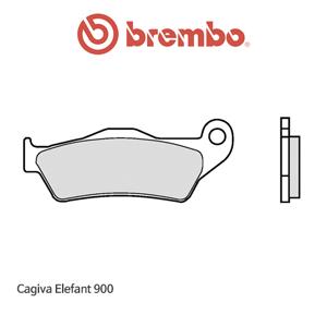 카지바 Elefant900 리어 파츠 로드 오토바이 브레이크패드 브렘보