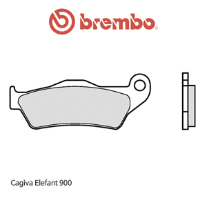 카지바 Elefant900 신터드 스트리트 오토바이 브레이크패드 브렘보 07BB04SA