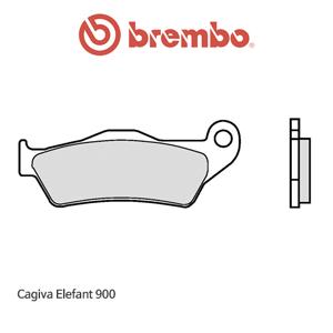 카지바 Elefant900 리어 신터드 스트리트 오토바이 브레이크패드 브렘보