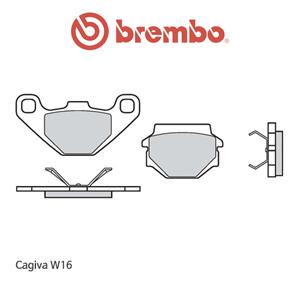 카지바 W16 오토바이 브레이크패드 브렘보
