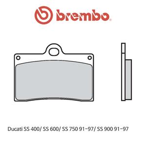 두카티 SS400/ SS600/ SS750 (91-97)/ SS900 (91-97) 신터드 스트리트 오토바이 브레이크패드 브렘보 07BB15SA