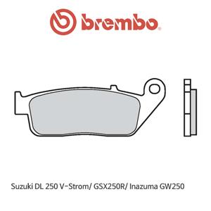 스즈키 DL250 브이스톰/ GSX250R/ Inazuma GW250 오토바이 브레이크패드 브렘보