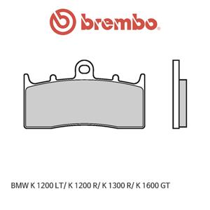 BMW K1200LT/ K1200R/ K1300R/ K1600GT 신터드 스트리트 오토바이 브레이크패드 브렘보 07GR62SA