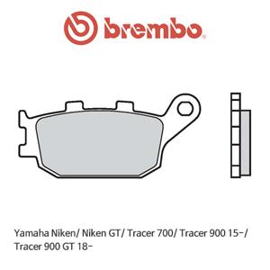 야마하 Niken/ Niken GT/ Tracer700/ Tracer900 (15-)/ Tracer900GT (18-) 스트리트 리어용 오토바이 브레이크패드 브렘보