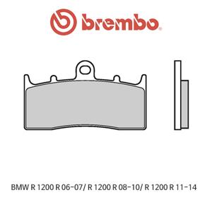 BMW R1200R (06-07)/ R1200R (08-10)/ R1200R (11-14) 신터드 스트리트 오토바이 브레이크패드 브렘보 07GR62SA