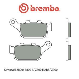 가와사키 Z800/ Z800E/ Z800E ABS/ Z900 신터드 스트리트 리어용 오토바이 브레이크패드 브렘보