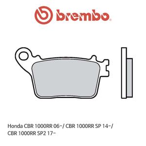 혼다 CBR1000RR (06-)/ CBR1000RR SP (14-)/ CBR1000RR SP2 (17-) 신터드 스트리트 리어용 오토바이 브레이크패드 브렘보