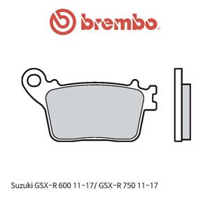 스즈키 GSX-R600 (11-17)/ GSX-R750 (11-17) 신터드 스트리트 리어용 오토바이 브레이크패드 브렘보