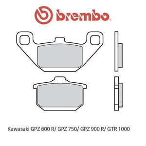 가와사키 GPZ600R/ GPZ750/ GPZ900R/ GTR1000 오토바이 브레이크패드 브렘보