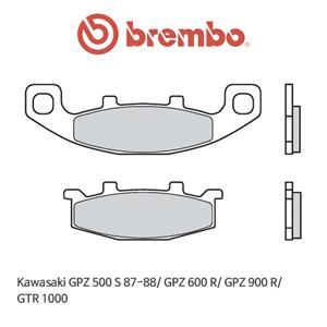 가와사키 GPZ500S (87-88)/ GPZ600R/ GPZ900R/ GTR1000 오토바이 브레이크패드 브렘보