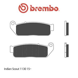 인디안 Scout1130 (15-) 신터드 스트리트 오토바이 브레이크패드 브렘보
