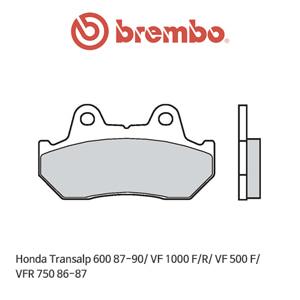 혼다 트랜스엘프600 (87-90)/ VF1000F/R/ VF500F/ VFR750 (86-87) 오토바이 브레이크패드 브렘보