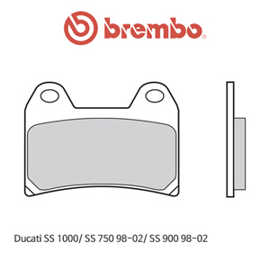 두카티 SS1000/ SS750 (98-02)/ SS900 (98-02) 레이싱 오토바이 브레이크패드 브렘보