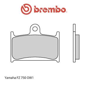 야마하 FZ750 OW1 익스트림 레이싱 오토바이 브레이크패드 브렘보