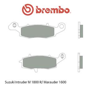 스즈키 Intruder M1800R/ Marauder1600 리어 신터드 스트리트 오토바이 브레이크패드 브렘보