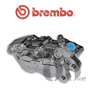 브렘보 캘리퍼 P4-30/34 Chromed 프론트 40mm 마운트 07BB1535