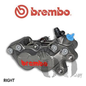 브렘보 P4-30/34 캘리퍼 티탄색상 프론트 우측 40mm 마운트 07BB1535 B타입