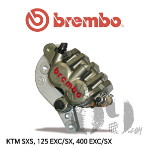 브렘보 Front Axial Caliper bracket and pads, for KTM SXS, 125 EXC/SX, 400 EXC/SX