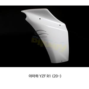 카본인 FRP 카본 YAMAHA 야마하 YZF R1 (20-) - left 사이드 패널 OEM 라디에이터 Y19231AF