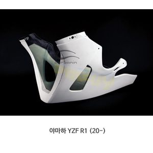 카본인 FRP 카본 YAMAHA 야마하 YZF R1 (20-) - lower fairing BIG 라디에이터 (1 Dzus) Y19221AF