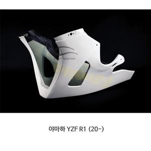 카본인 FRP 카본 YAMAHA 야마하 YZF R1 (20-) - lower fairing BIG 사이드 스탠드 (2 Dzus) Y19223AF