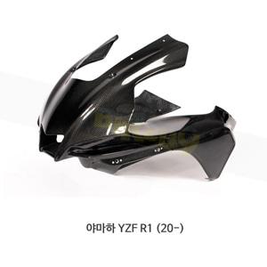 카본인 FRP 카본 YAMAHA 야마하 YZF R1 (20-) - upper 레이스 fairing (4 Dzus) CY19210