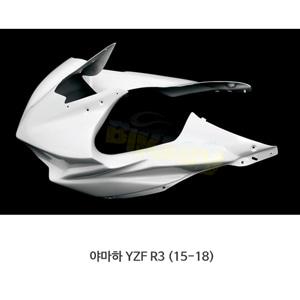 카본인 FRP 카본 YAMAHA 야마하 YZF R3 (15-18) - upper 레이스 fairing (6 Dzus) Y17210AF