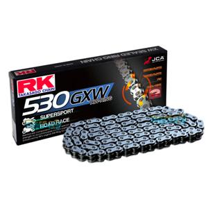 RK 530 GXW 하이 퍼포먼스 Sealed 체인, 120 링크, 530 사이즈 - 오토바이 금장 체인 RK530GXWBB-120