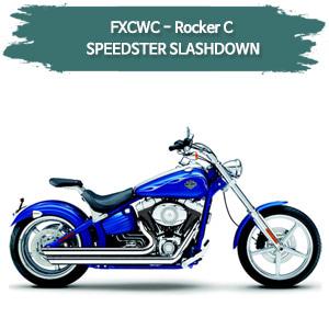 (08-11) 스피드스터 SLASHDOWN 풀시스템 할리 코브라 소프테일 락커C 머플러