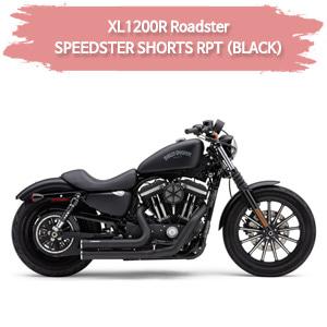 (07-08) SPEEDSTER SHORTS RPT (BLACK) 풀시스템 할리 머플러 코브라 스포스터 XL1200R 로드스터