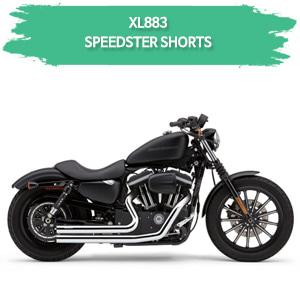 (04-06) SPEEDSTER SHORTS 풀시스템 할리 머플러 코브라 스포스터 XL883